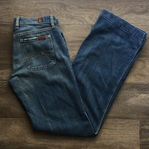 7 For All Mankind Jeans - Seven Jeans - Winston Wide Leg Style